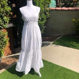 Speed Control White Sundress